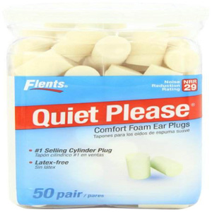 Flents Quiet Please Foam Ear Plugs 50 Pair