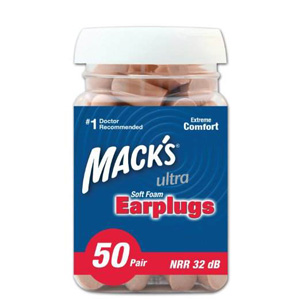 Mack's ear care ultra soft foam earplugs