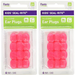 Flents Kids Silicone Ear Plugs