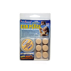 PUTTY BUDDIES Floating Ear Plugs for Swimming & Bathing