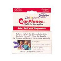 New -EarPlanes for Kids Airplane Earplugs